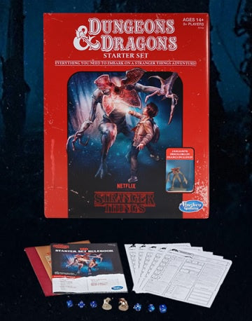 Buy Dungeons & Dragons - 5th Edition - Stranger Things Starter Set (Pre-Order) and more Great RPG Products at 401 Games