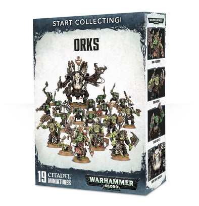 Warhammer 40,000 - Start Collecting! Orks - 401 Games