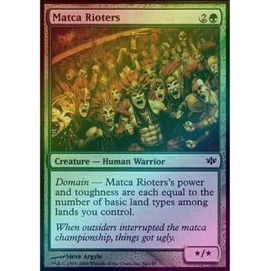 Matca Rioters (Foil) (CON) available at 401 Games Canada