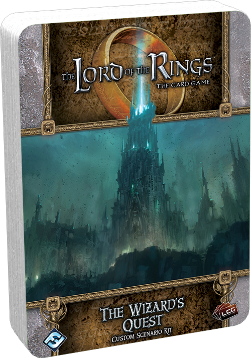 Lord of the RIngs Living Card Game - The Wizard's Quest (Pre-Order)
