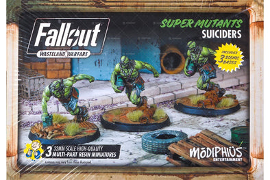 Fallout - Wasteland Warfare - Super Mutant Suiciders
