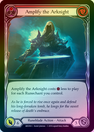 Amplify the Arknight (ARC094) - Rainbow available at 401 Games Canada