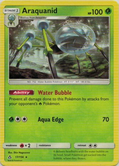 Buy Araquanid - 17/156 and more Great Pokemon Products at 401 Games