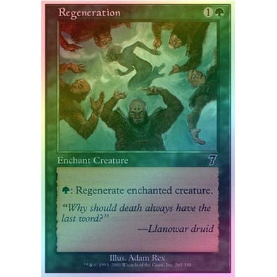 Regeneration (Foil) available at 401 Games Canada