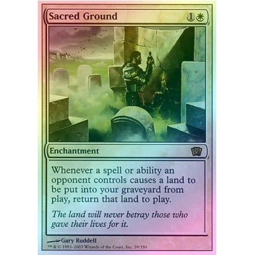 Sacred Ground (Foil) available at 401 Games Canada