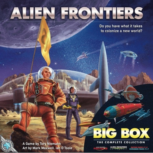 Alien Frontiers Big Box - 401 Games
