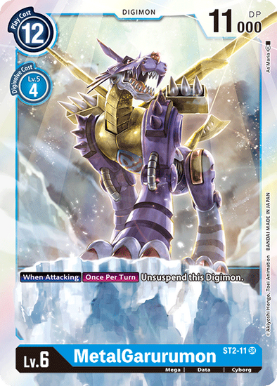 MetalGarurumon (ST2-11) available at 401 Games Canada