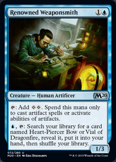 Renowned Weaponsmith (M20) - 401 Games