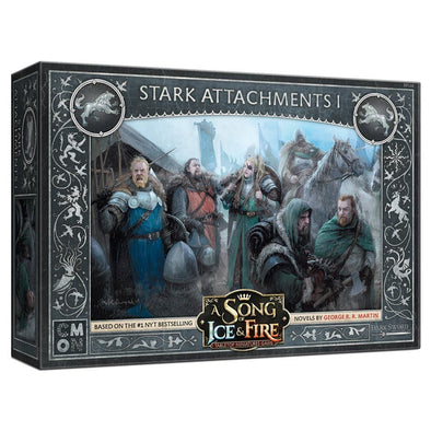 A Song of Ice and Fire - Tabletop Miniatures Game - House Stark - Attachments 1 (Pre-Order) - 401 Games