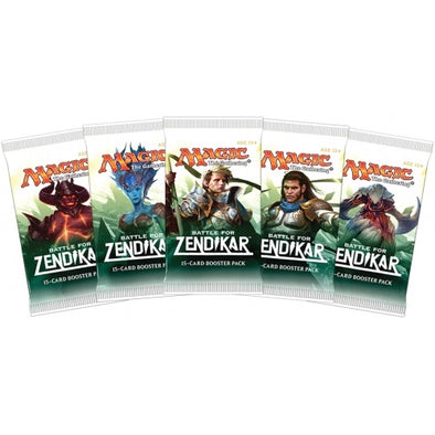 MTG - Battle for Zendikar Russian Booster Pack - 401 Games
