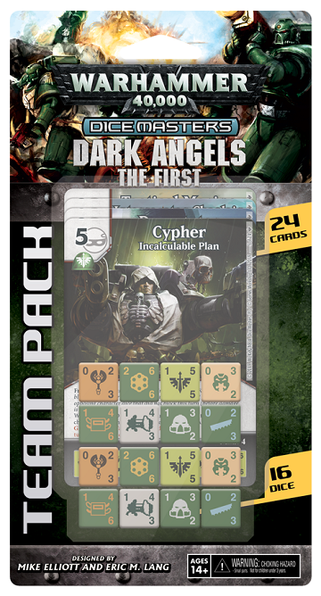 Buy Dice Masters - Warhammer 40,000 - Dark Angels The First Team Pack (Pre-Order) and more Great Dice Masters Products at 401 Games