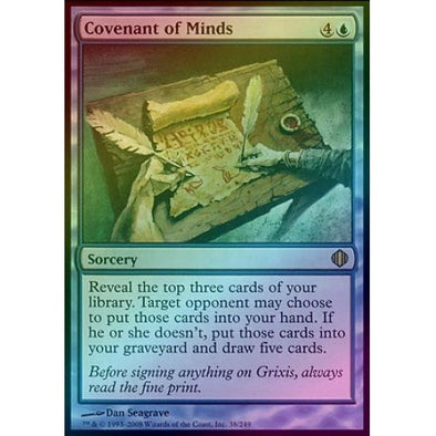 Covenant of Minds (Foil) (ALA) available at 401 Games Canada