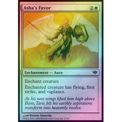 Asha's Favor (Foil) (CON) available at 401 Games Canada