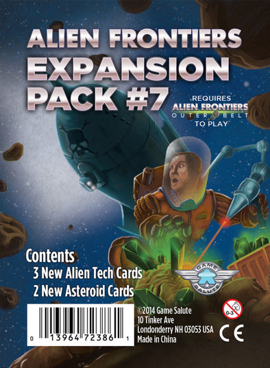 Alien Frontiers - Expansion Pack 7 - 401 Games