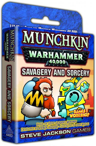 Munchkin - Warhammer 40,000 - Savagery and Sorcery (Pre-Order)