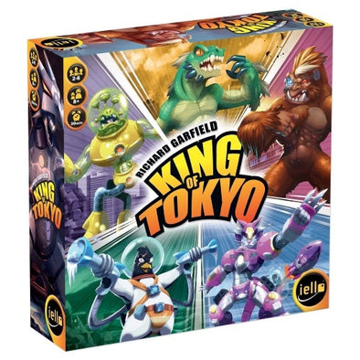 Buy King of Tokyo - Second Edition and more Great Board Games Products at 401 Games