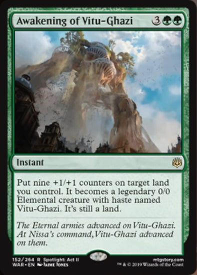 Buy Awakening of Vitu-Ghazi (WAR) and more Great Magic: The Gathering Products at 401 Games