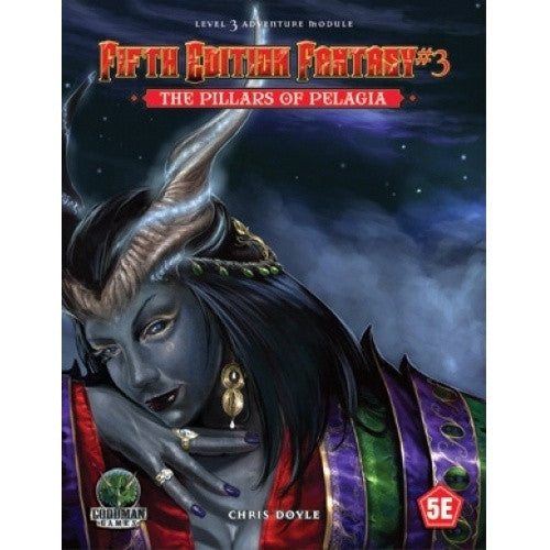 Buy Dungeons and Dragons - 5th Edition - Fifth Edition Fantasy #03: The Pillars of Pelagia and more Great RPG Products at 401 Games
