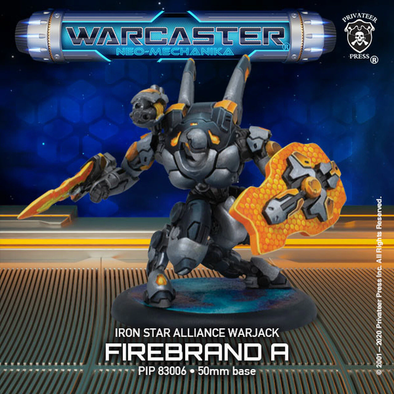 Warcaster - Neo-Mechanika - Iron Star Alliance - Firebrand (Variant A) - 401 Games