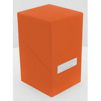 Buy Ultimate Guard - Monolith Deck Case - Orange and more Great Sleeves & Supplies Products at 401 Games