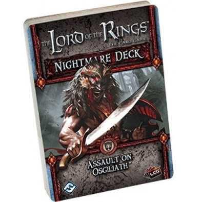 Lord of the Rings LCG - Assault on Osgiliath Nightmare Deck - 401 Games