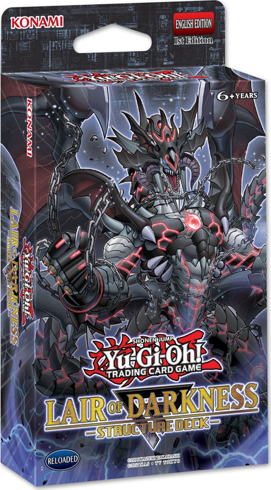 Yugioh - Lair of Darkness Structure Deck