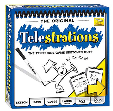 Telestrations available at 401 Games Canada