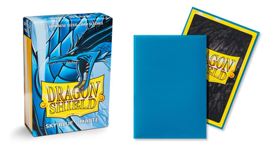Dragon Shield - 60ct Japanese Size -Sky Blue Matte available at 401 Games Canada