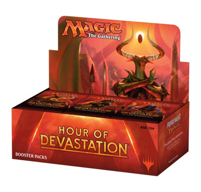 Buy MTG - Hour of Devastation - English Booster Box and more Great Magic: The Gathering Products at 401 Games