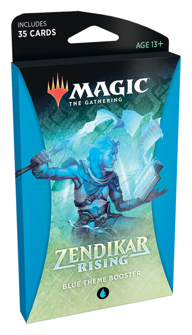 MTG - Zendikar Rising - Theme Booster Pack - Blue available at 401 Games Canada