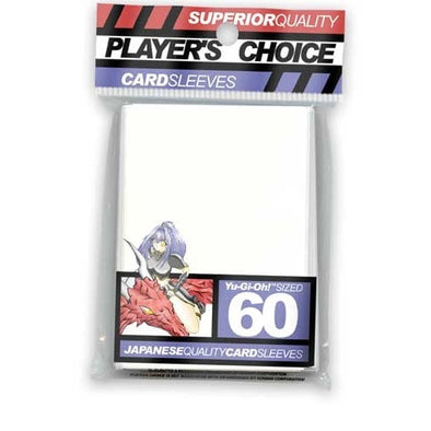 Buy Players Choice - Small / Yu Gi Oh - White and more Great Sleeves & Supplies Products at 401 Games