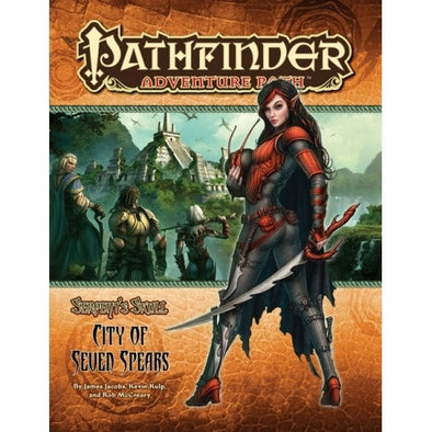 Buy Pathfinder - Adventure Path - #39: City of Seven Spears (Serpents Skull 3 of 6) and more Great RPG Products at 401 Games