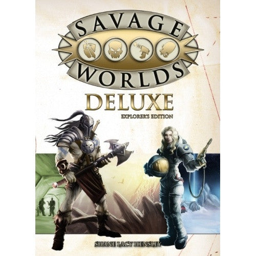 Savage Worlds - Deluxe Explorer's Edition - 401 Games