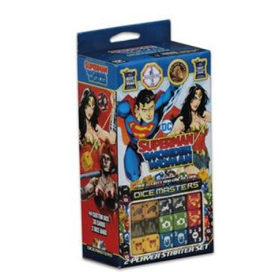 Buy Dice Masters -Superman & Wonder Woman - Starter Set and more Great Dice Masters Products at 401 Games