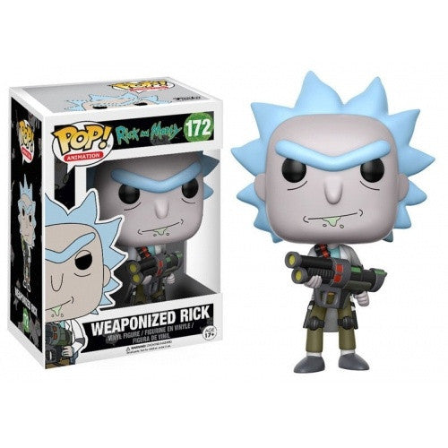 Buy Pop! Rick and Morty - Weaponized Rick and more Great Funko & POP! Products at 401 Games