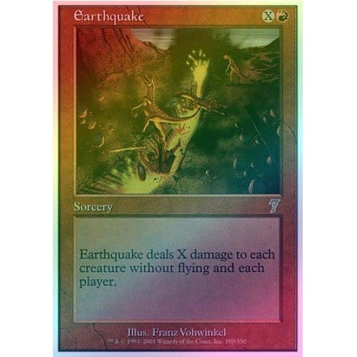 Earthquake (Foil) available at 401 Games Canada