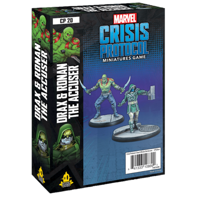 Marvel - Crisis Protocol - Drax & Ronan the Accuser - 401 Games