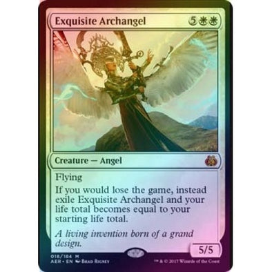 Exquisite Archangel (Foil) (AER) available at 401 Games Canada