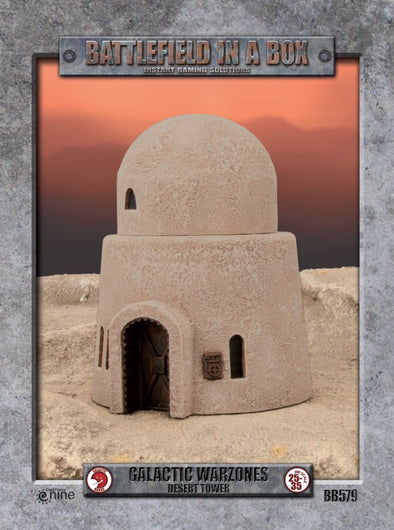 Buy Battlefield in a Box - Galactic Warzones - Desert Tower and more Great Tabletop Wargames Products at 401 Games