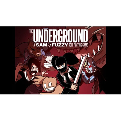 The Underground: A Sam & Fuzzy Roleplaying Game - Core Rulebook - 401 Games