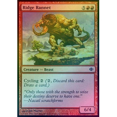 Ridge Rannet (Foil) (ALA) available at 401 Games Canada