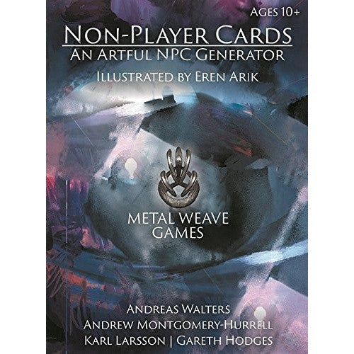 Non-Player Cards: An Artful NPC Generator available at 401 Games Canada