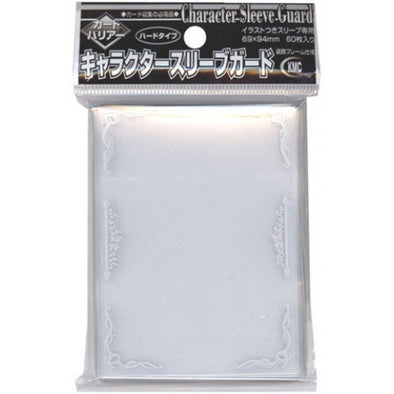 KMC - Character Sleeve Guard - Silver - 69 x 94 - 60ct - 401 Games