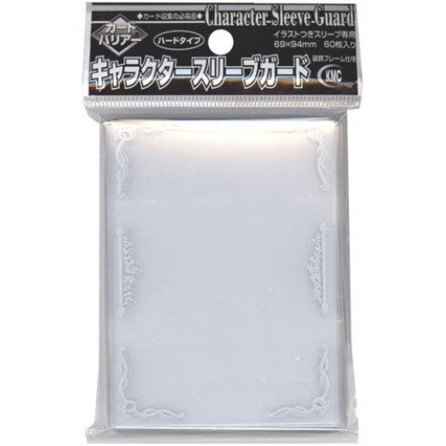 Buy KMC - Character Sleeve Guard - Silver - 69 x 94 - 60ct and more Great Sleeves & Supplies Products at 401 Games