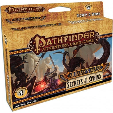 Buy Pathfinder Adventure Card Game - Mummy's Mask - Secrets of the Sphinx Adventure Deck and more Great Board Games Products at 401 Games
