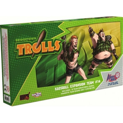 Buy Kaosball - Team Pack - Bridgetown Trolls and more Great Board Games Products at 401 Games