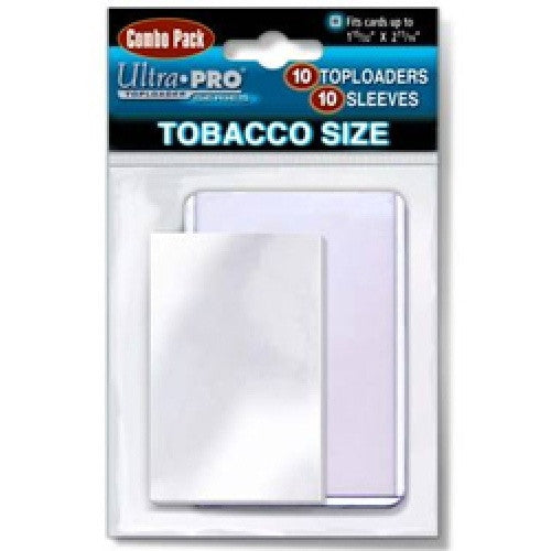 Buy Ultra Pro Toploader 10ct Tobacco Size Topload & Sleeve Combo and more Great Sleeves & Supplies Products at 401 Games