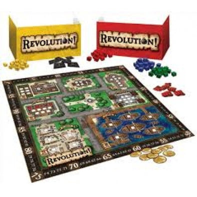 Buy Revolution! and more Great Board Games Products at 401 Games