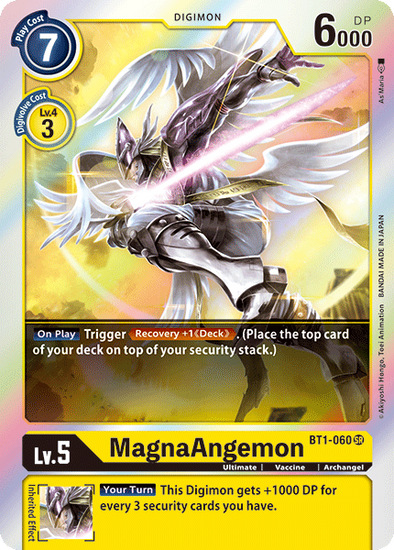 MagnaAngemon (BT1-060) available at 401 Games Canada