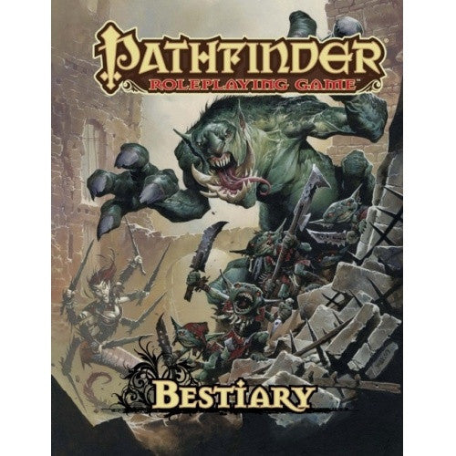 Pathfinder - Book - Bestiary available at 401 Games Canada
